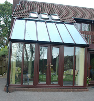 Lean-To Conservatory South West